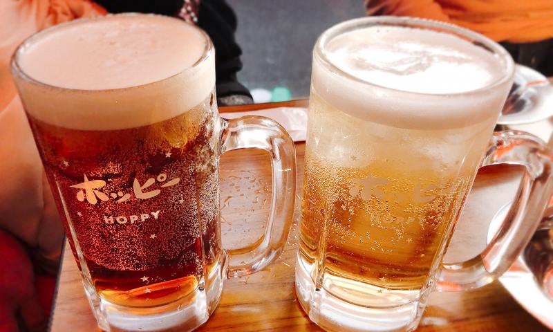 浅草「鈴芳」ホッピー通りで唯一飲める生ホッピーは希少すぎる白・黒・ハーフ!